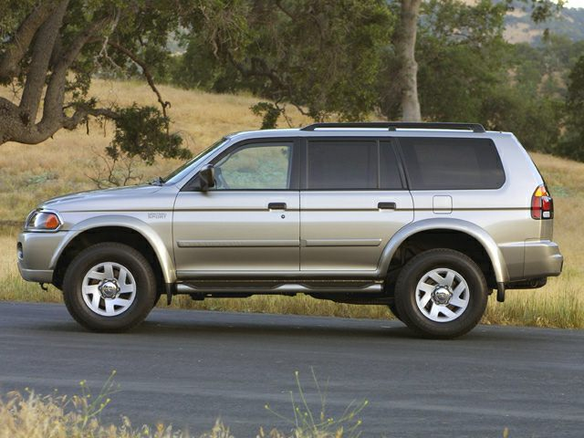 2002 mitsubishi montero sport new car test drive