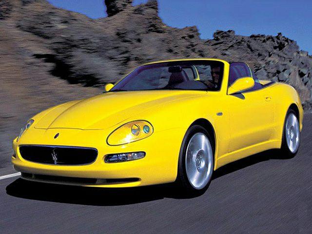 2002 Maserati Spyder Information