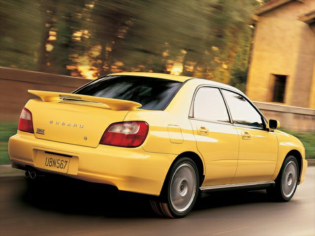 2002 subaru impreza wrx 4dr all wheel drive sedan pictures. Black Bedroom Furniture Sets. Home Design Ideas