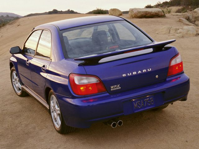 2002 Subaru Impreza Specs and Prices