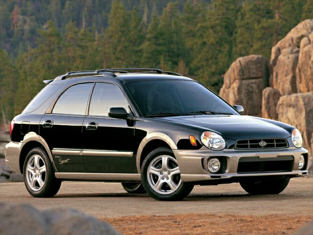 2002 Subaru Impreza Outback Sport Base 4dr All Wheel Drive Station Wagon Specs And Prices