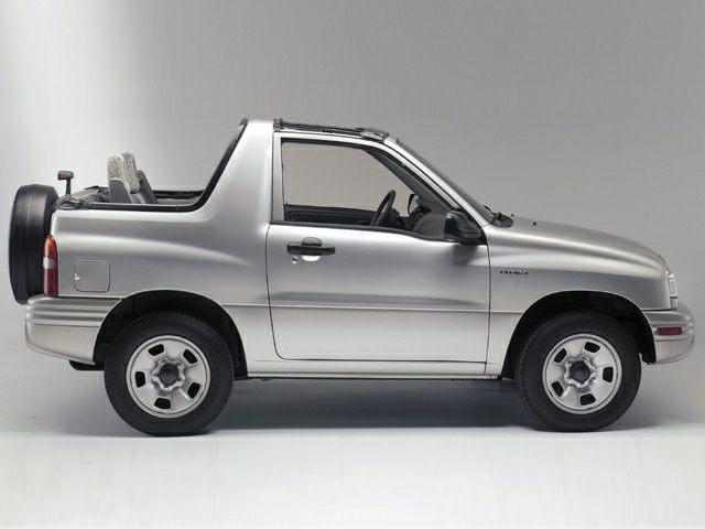 2002 Suzuki Vitara Exterior Photo