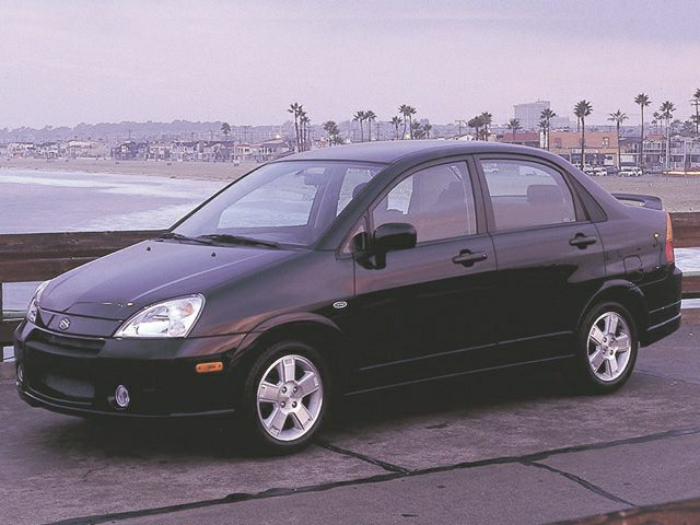 2002 Suzuki Aerio Exterior Photo