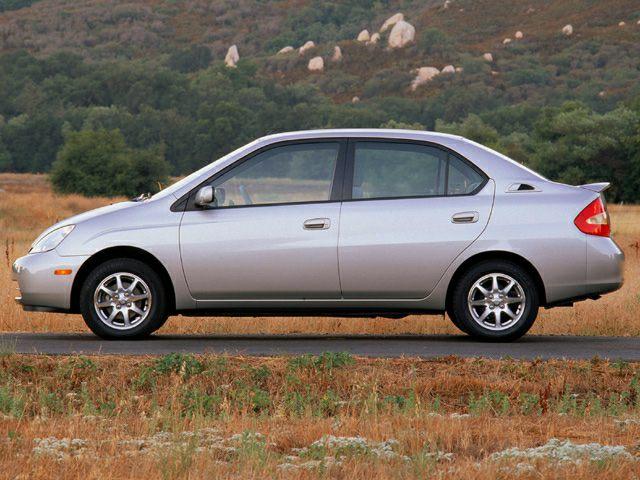 2002 Toyota Prius Exterior Photo