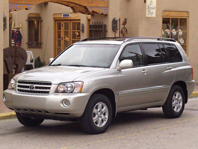 2002 Toyota Highlander Exterior Photo