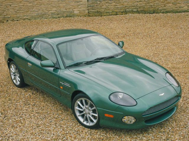 2002 Aston Martin DB7 Vantage Exterior Photo