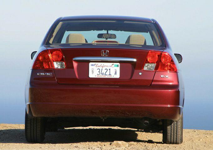 2003 Honda Civic Exterior Photo