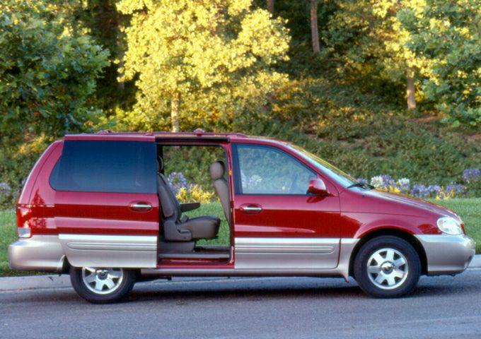 2003 Kia Sedona Exterior Photo