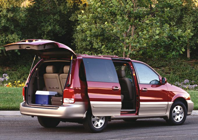 2003 Kia Sedona EX Mount Carroll IL | Savanna Clinton Stockton ...