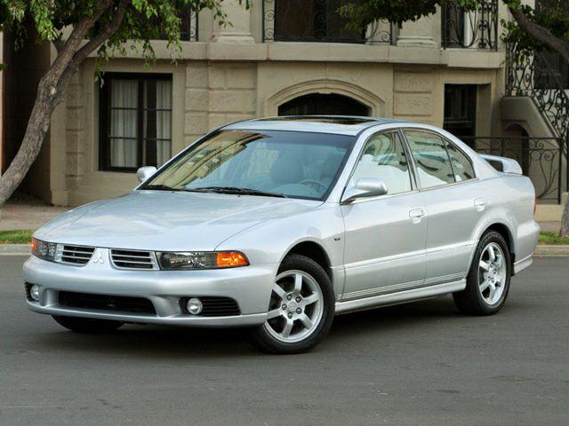 2003 Mitsubishi Galant De 4dr Sedan Pictures