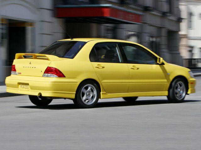 2003 Mitsubishi Lancer Information