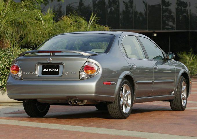 2003 Nissan Maxima Information