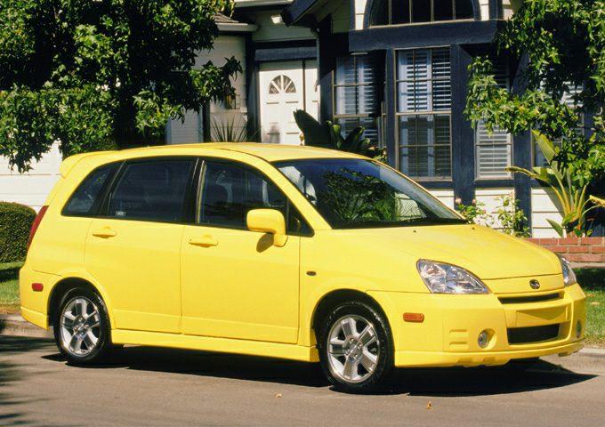 2004 Suzuki Aerio SX Exterior Photo