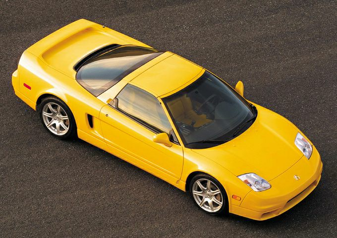 2004 Acura NSX-T Exterior Photo