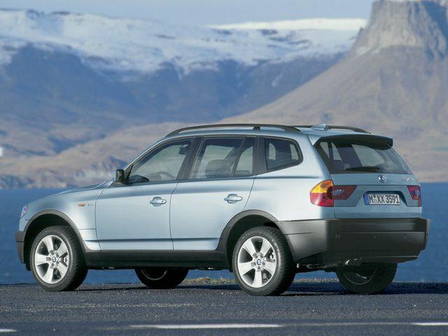 2004 BMW X3 Exterior Photo
