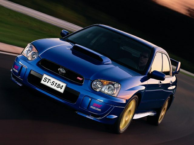 2004 Subaru Impreza Wrx Sti Information