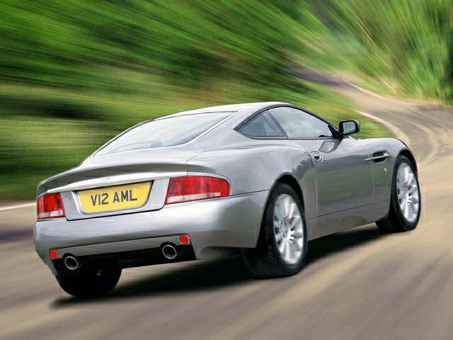2005 Aston Martin Vanquish Exterior Photo
