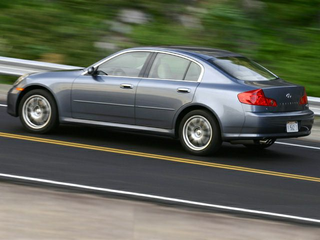 2006 Infiniti G35x Base 4dr All Wheel Drive Sedan Specs And Prices