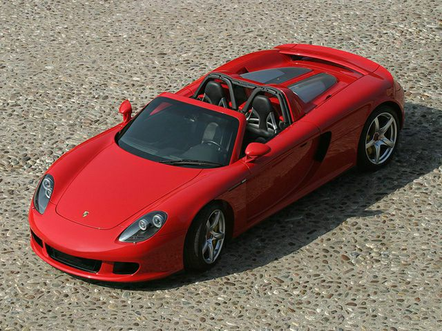 2005 porsche carrera gt price