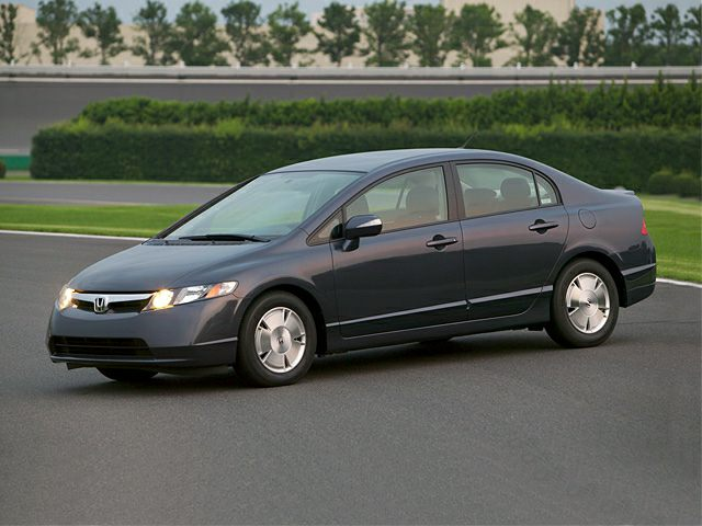 2007 honda civic hybrid exterior photo