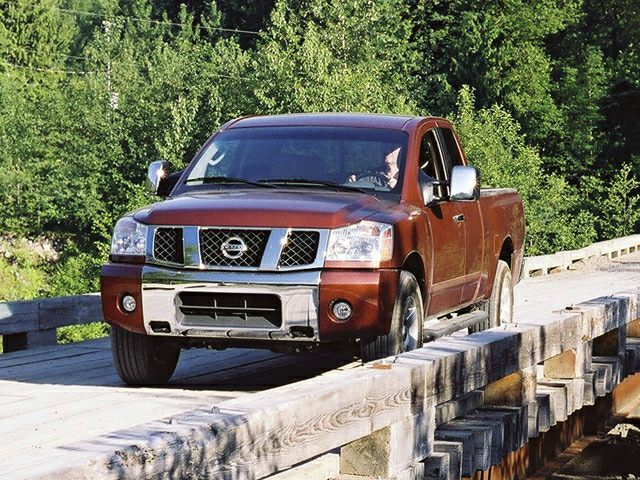 2007 nissan titan le 4x2 king cab pictures. Black Bedroom Furniture Sets. Home Design Ideas