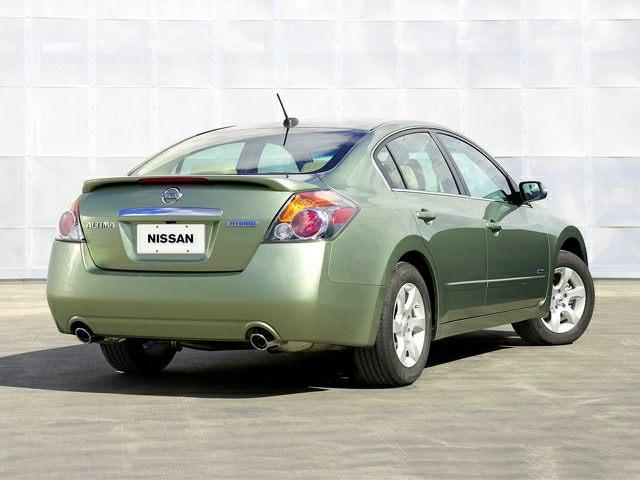 2007 Nissan Altima Hybrid Information