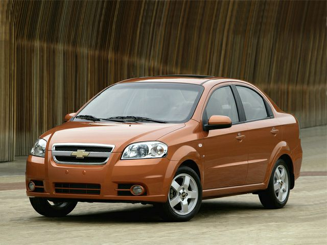 2008 Chevrolet Aveo Safety Recalls