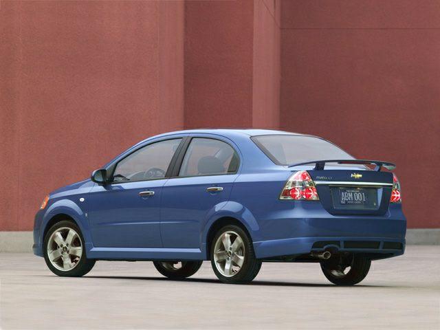 2008 Chevrolet Aveo Crash Test Ratings