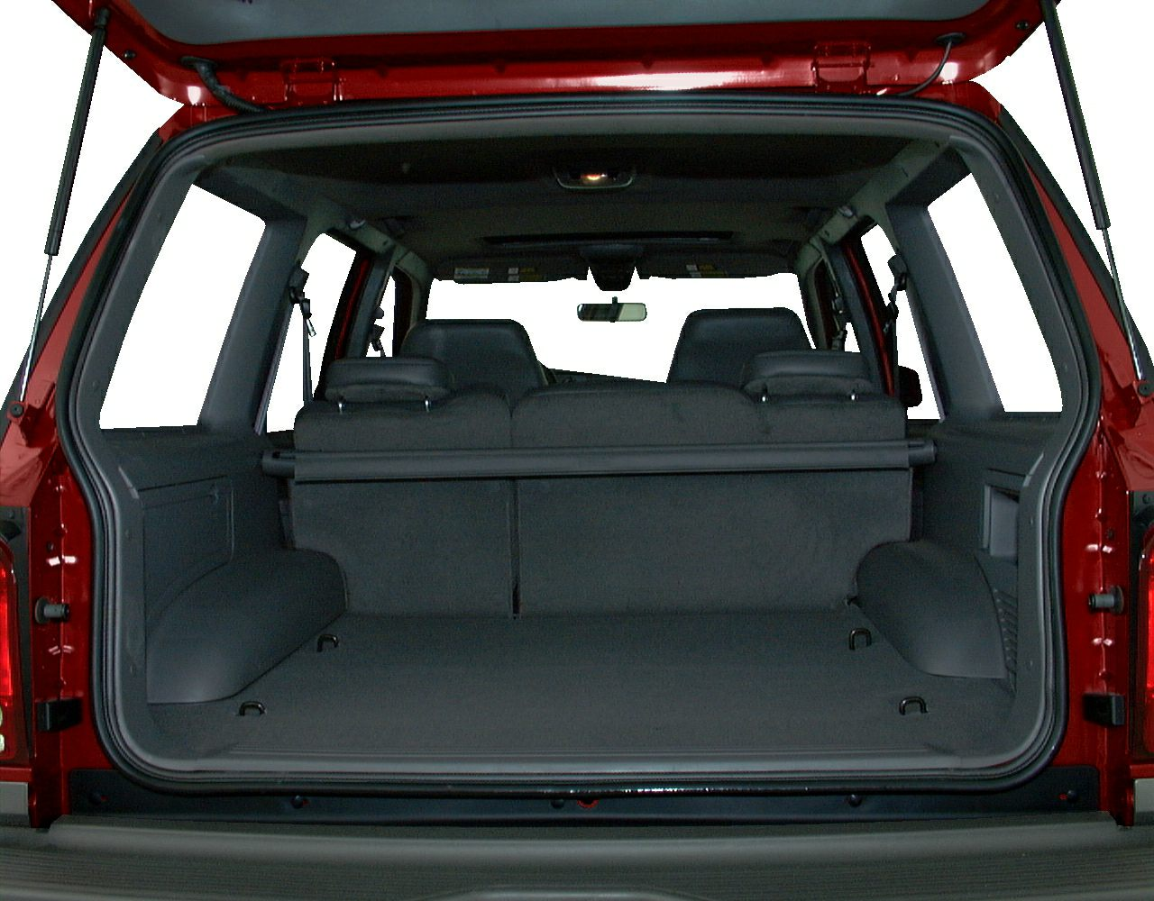 Ford Explorer Cargo Dimensions - Auto Express