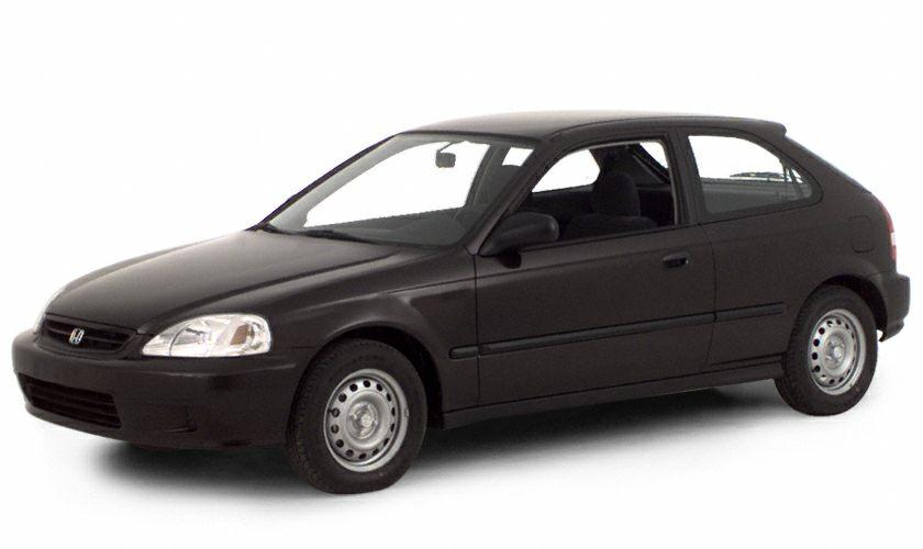 Charming CX 2dr Hatchback 2000 Honda Civic