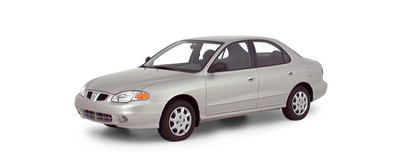 2000 Hyundai Elantra Information