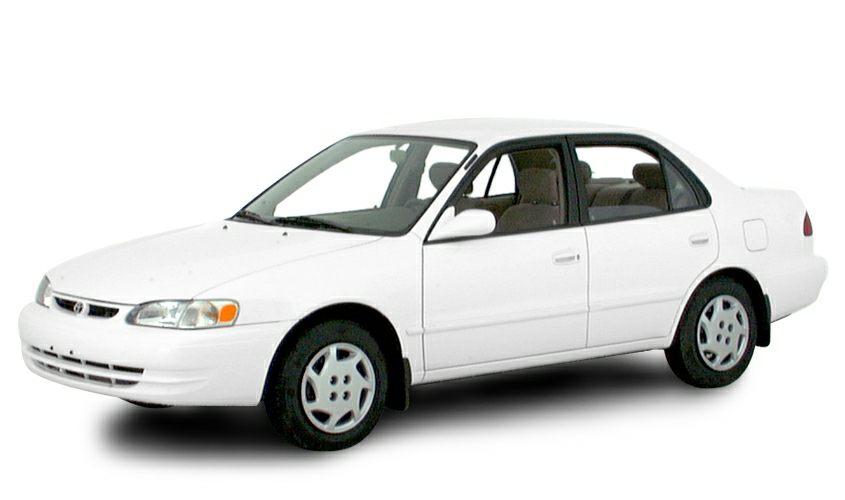 2000 Toyota Corolla Le 4dr Sedan Information