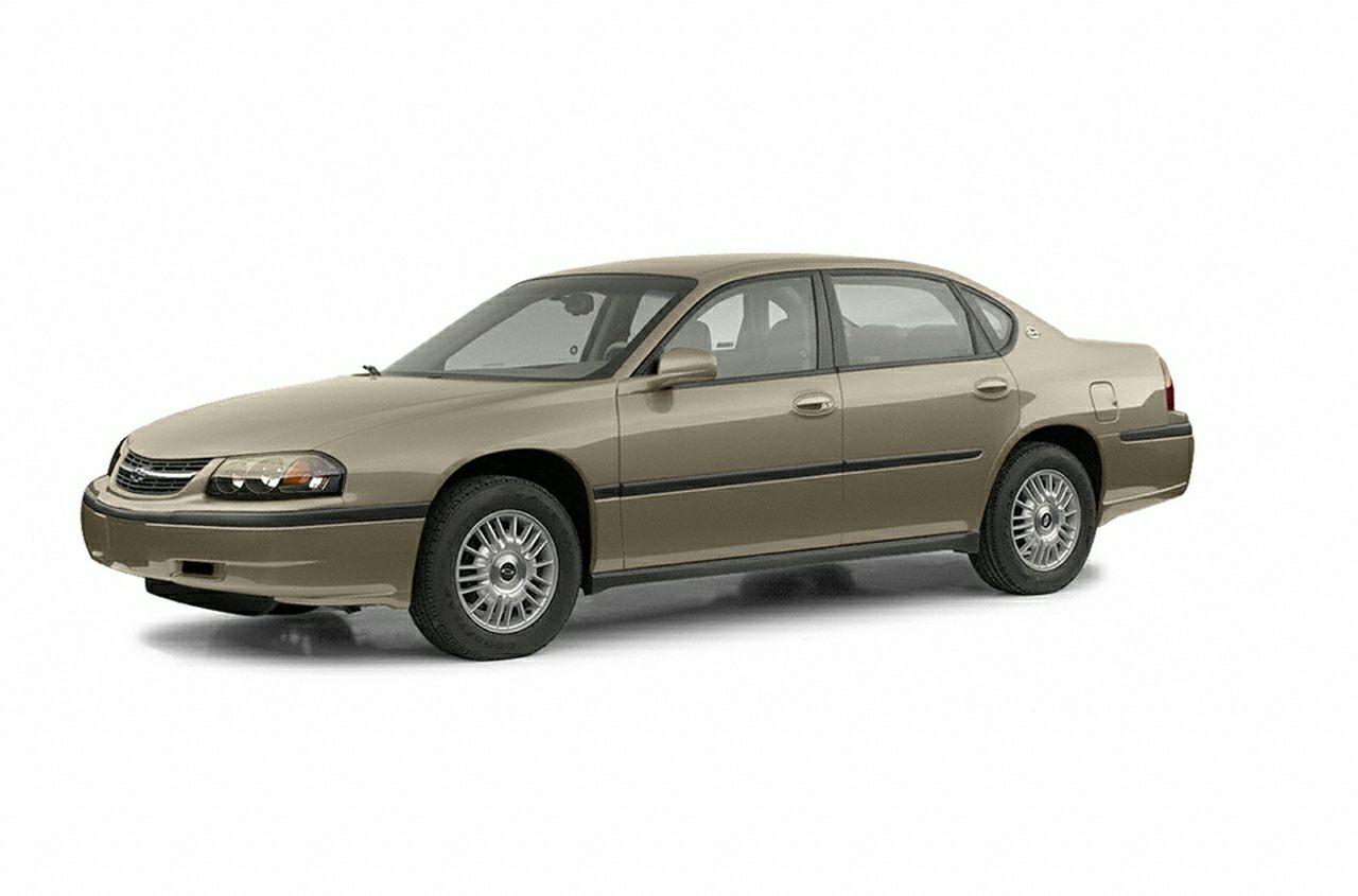 Impala 2000 chevrolet impala review : 2003 Chevrolet Impala New Car Test Drive