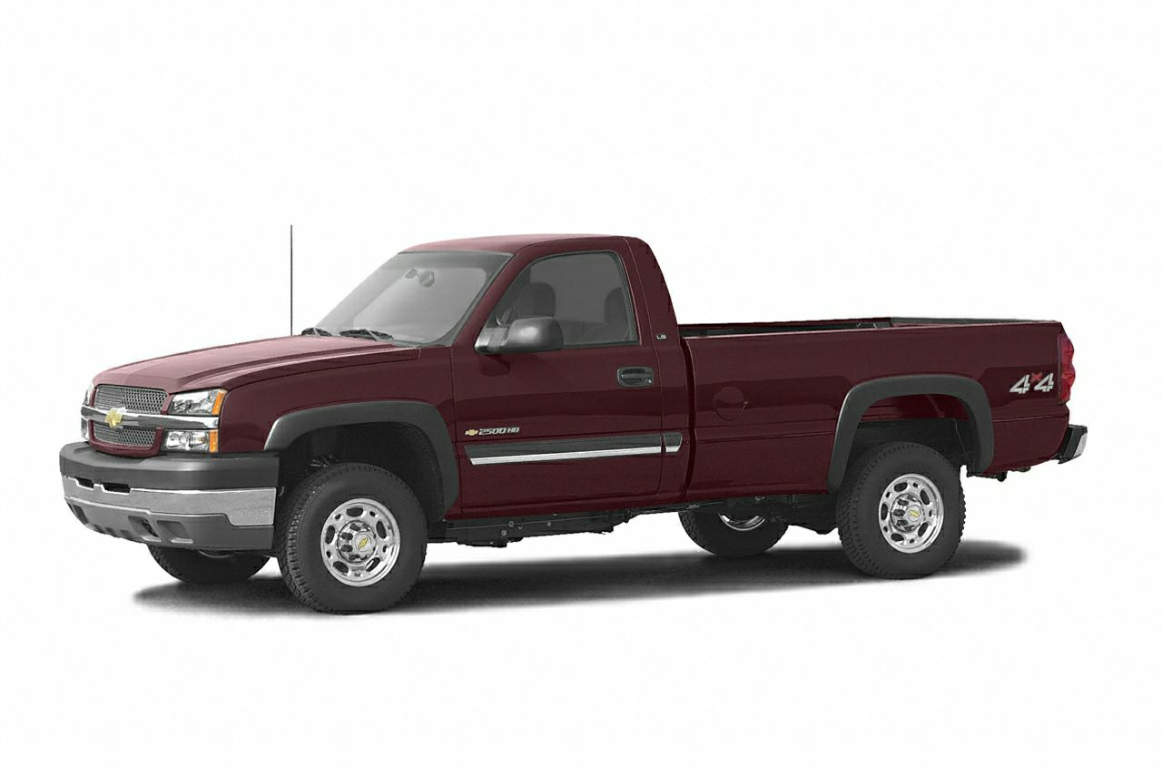 2003 Chevrolet Silverado 2500hd Ls 4x4 Regular Cab 8 Ft Box 133 In Wb Pictures