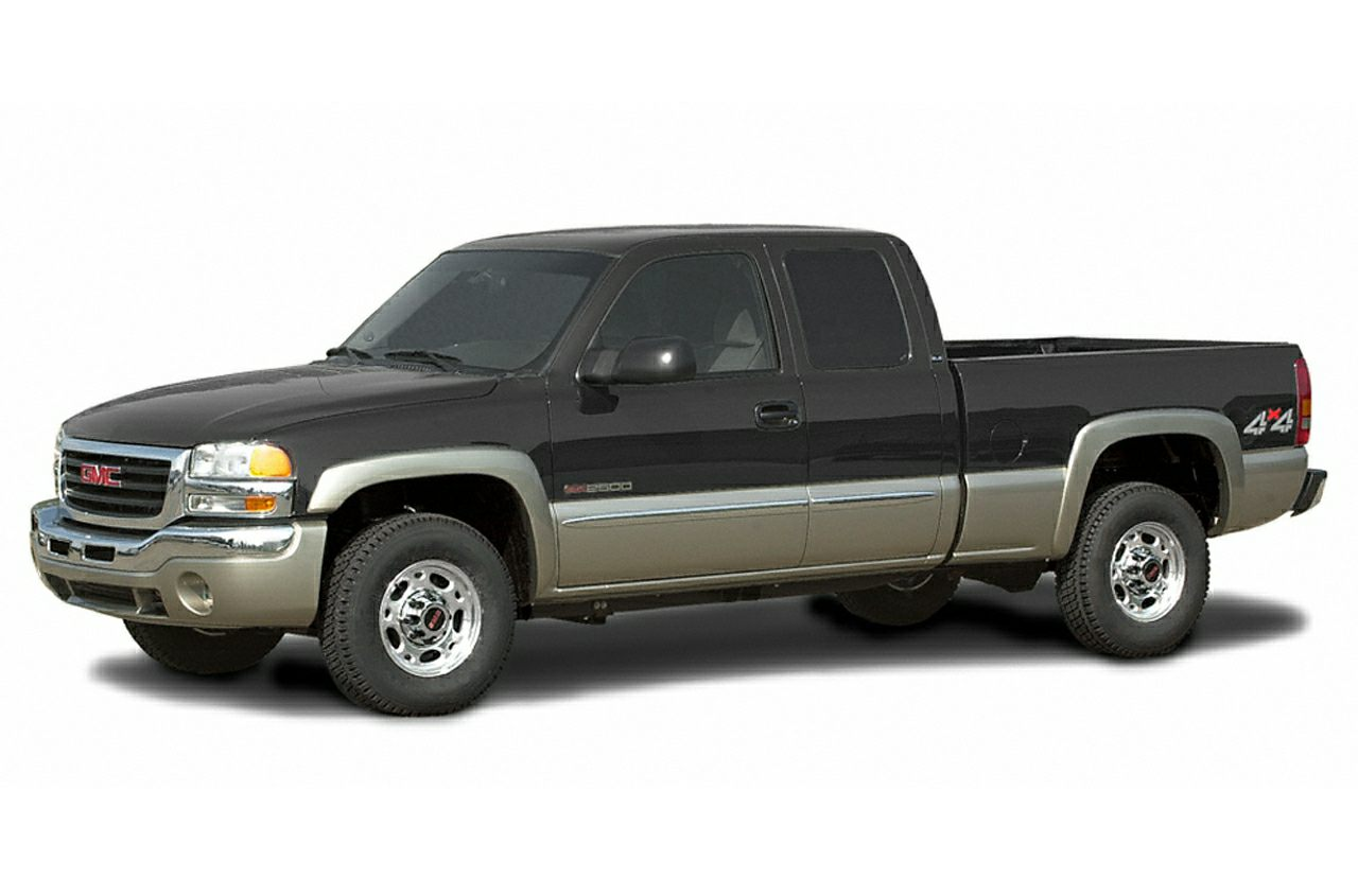 2003 Gmc Sierra 2500 Sle 4x4 Extended Cab 6 6 Ft Box 143 5 In Wb Pictures