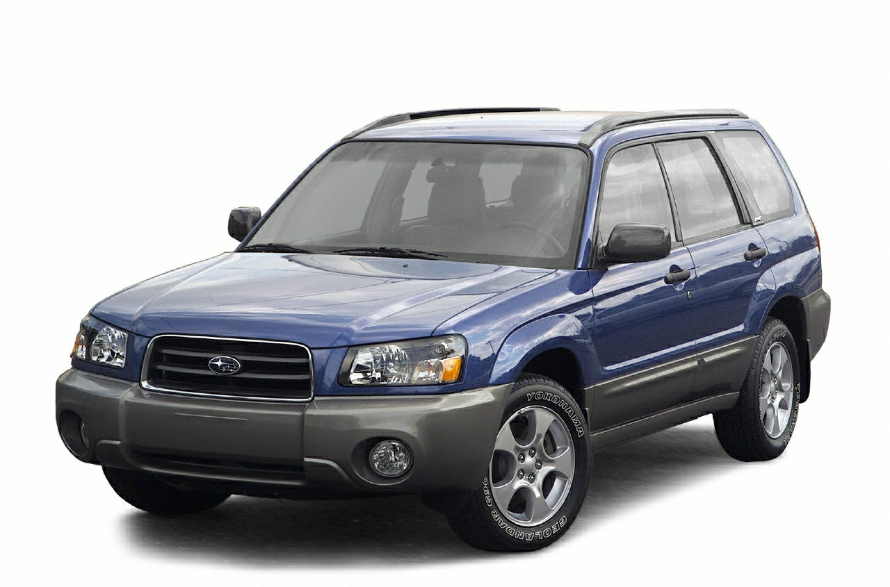 2003 Subaru Forester Vs Toyota Rav4 And Honda Cr V Overview Msrp