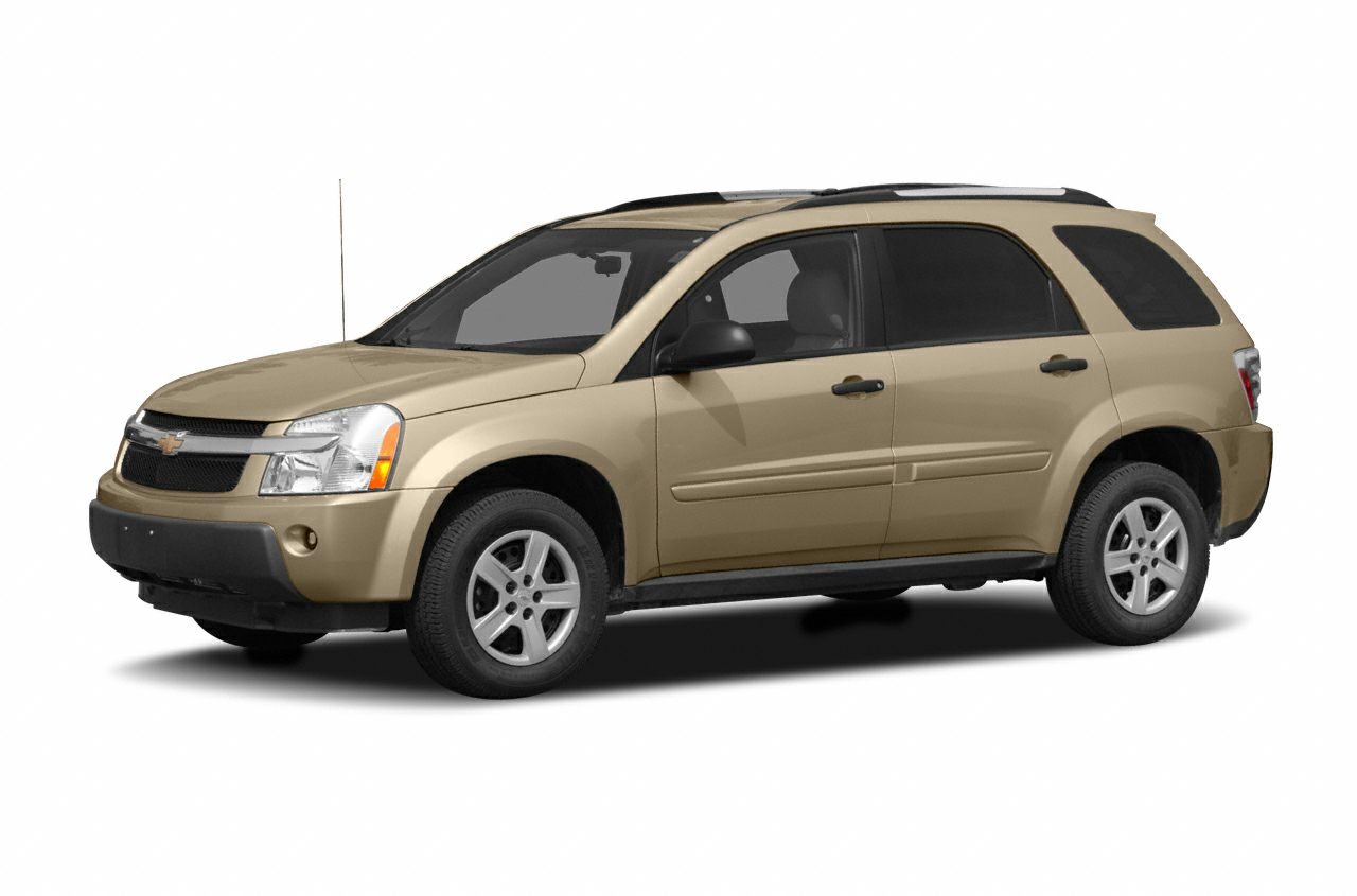 2005 chevrolet equinox ls front-wheel drive sport utility information