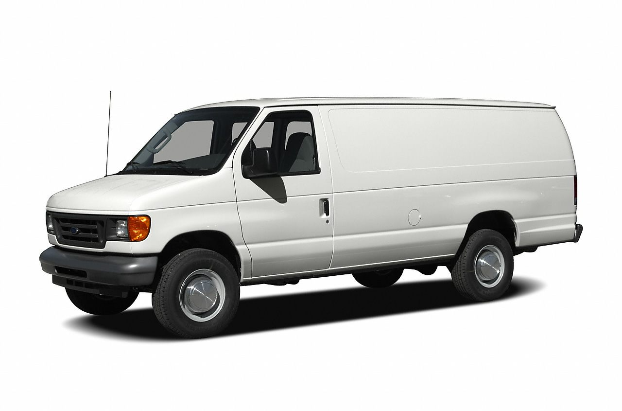 2006 Ford E-350 Super Duty Commercial Cargo Van Specs and Prices