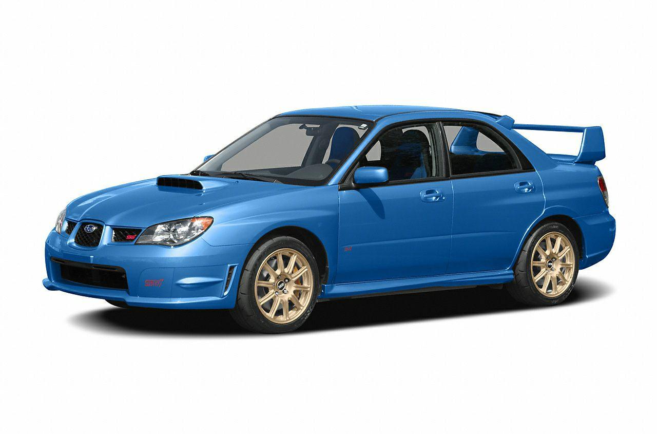 2006 subaru impreza wrx sti new car test drive vanachro Gallery