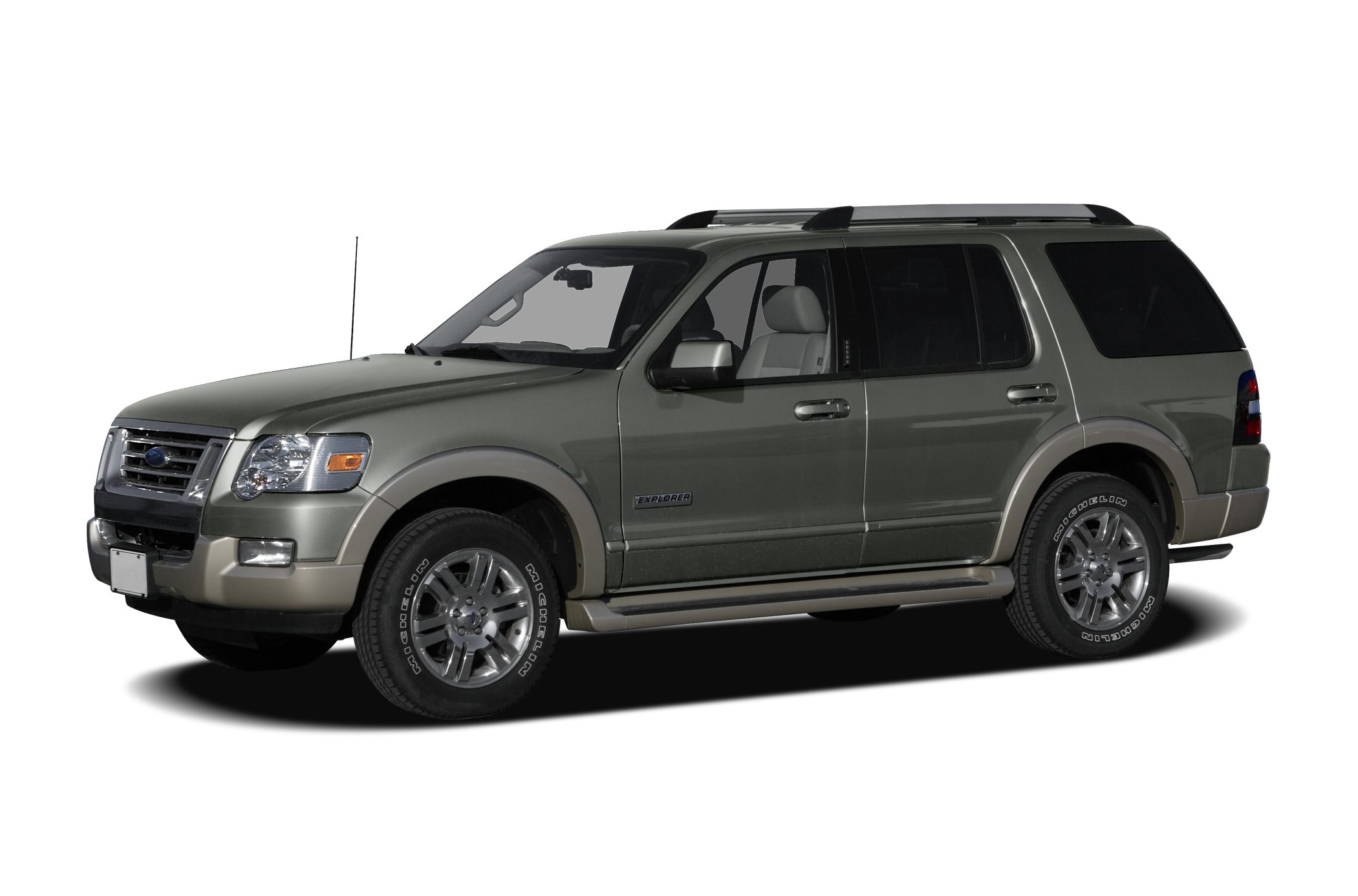 2007 ford explorer eddie bauer features