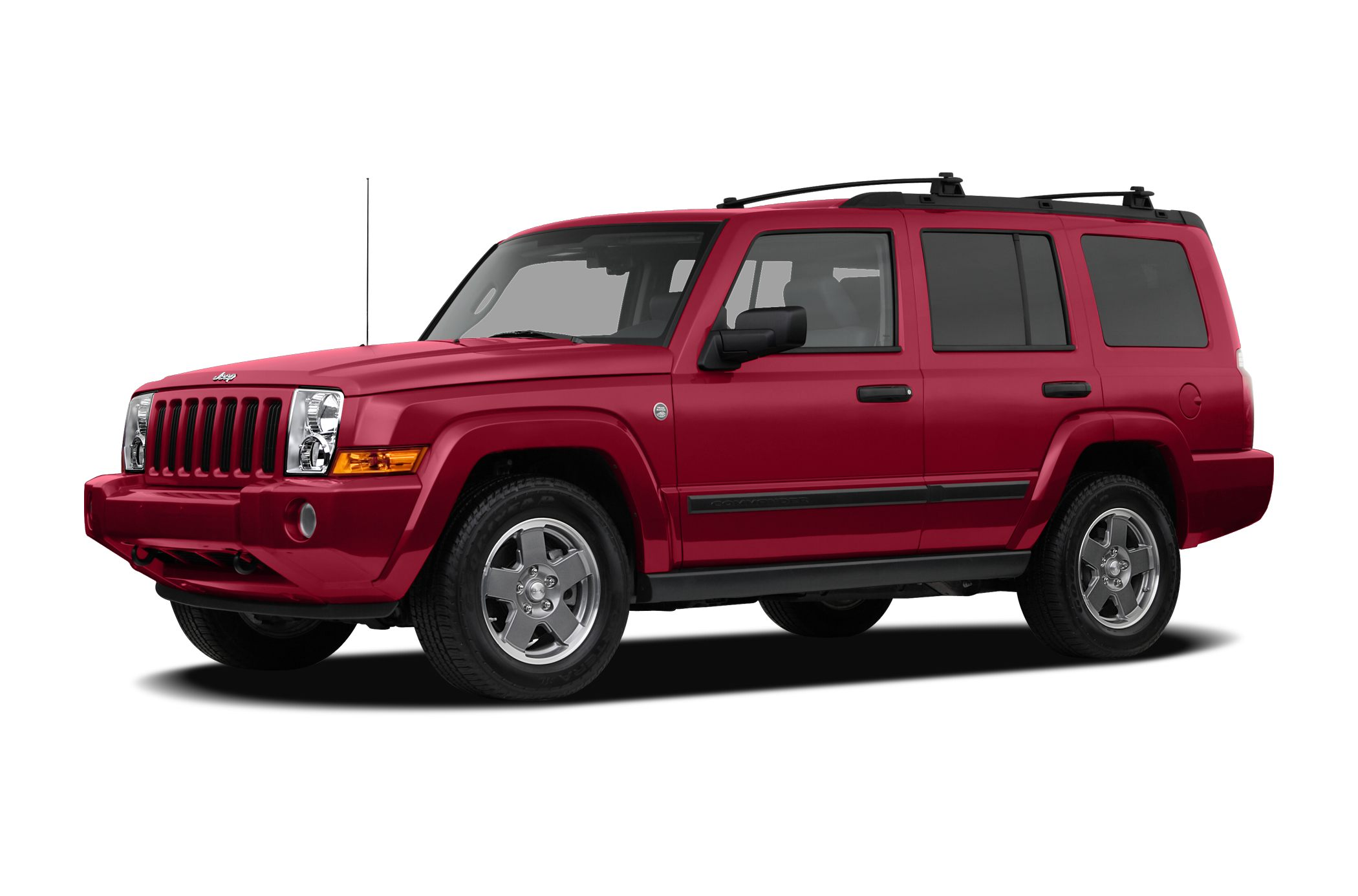 2007 jeep commander new car test drive