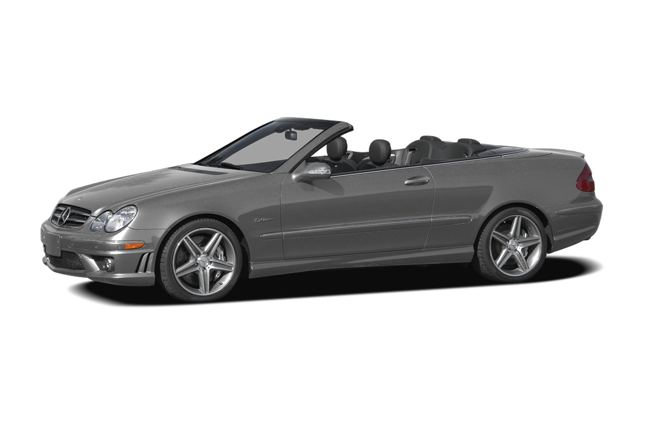 2007 Mercedes Benz CLK Class Base CLK 63 AMG 2dr Convertible Safety