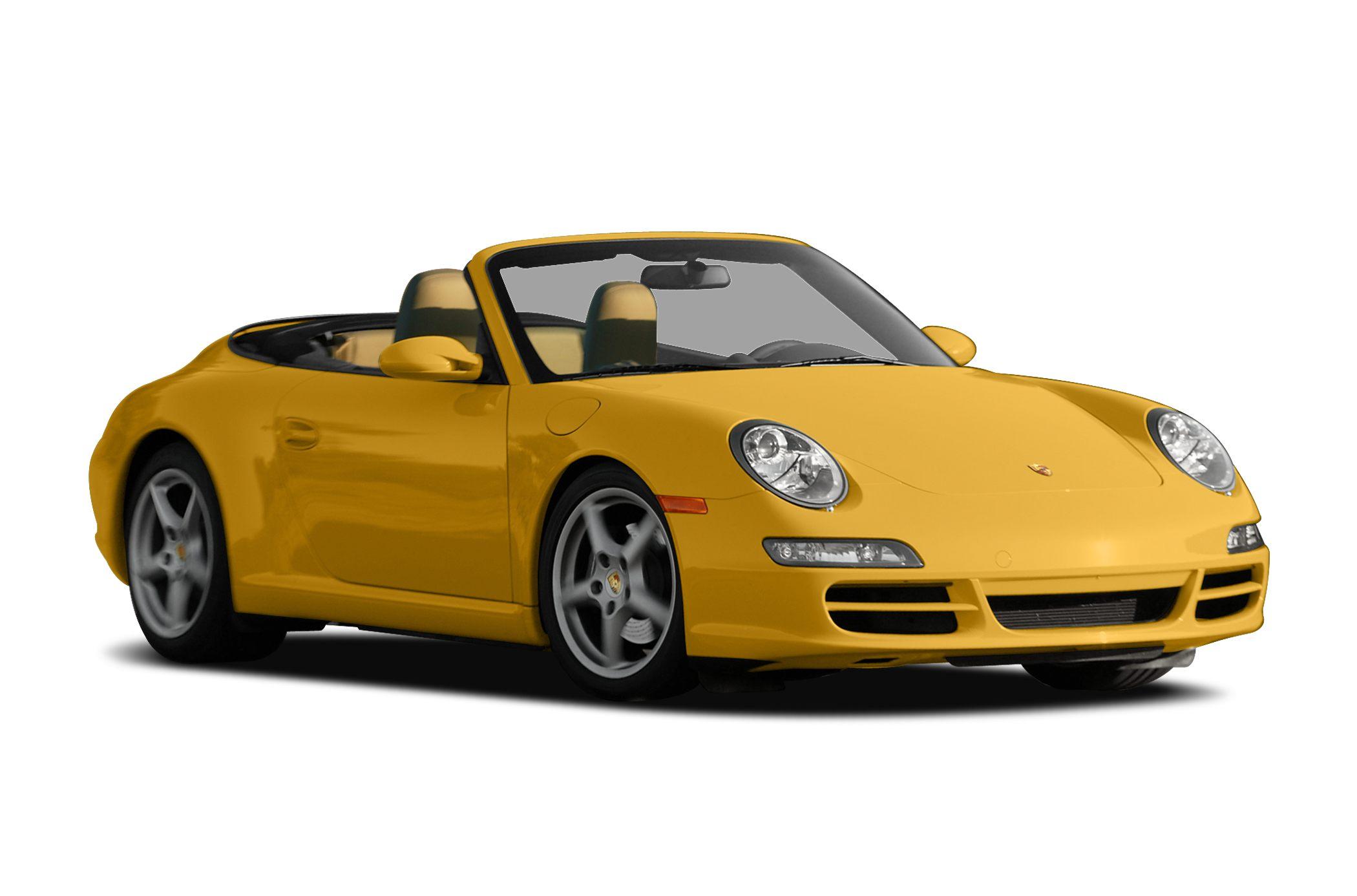 Carrera 4s 2dr All Wheel Drive Cabriolet 2007 Porsche 911 Specs