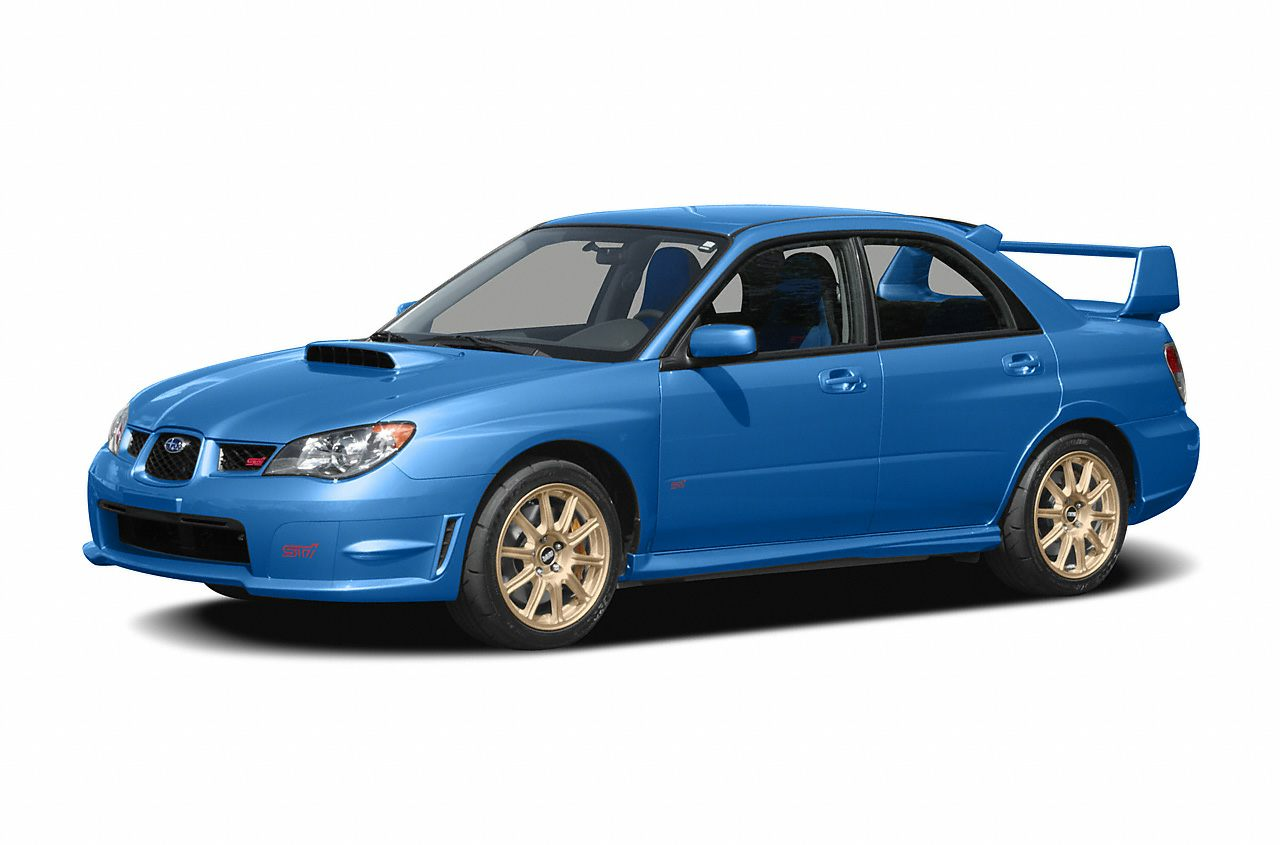 2007 Subaru Wrx Sti >> 2007 Subaru Impreza Wrx Sti Base W Gold Wheels 4dr All Wheel Drive Sedan Pictures