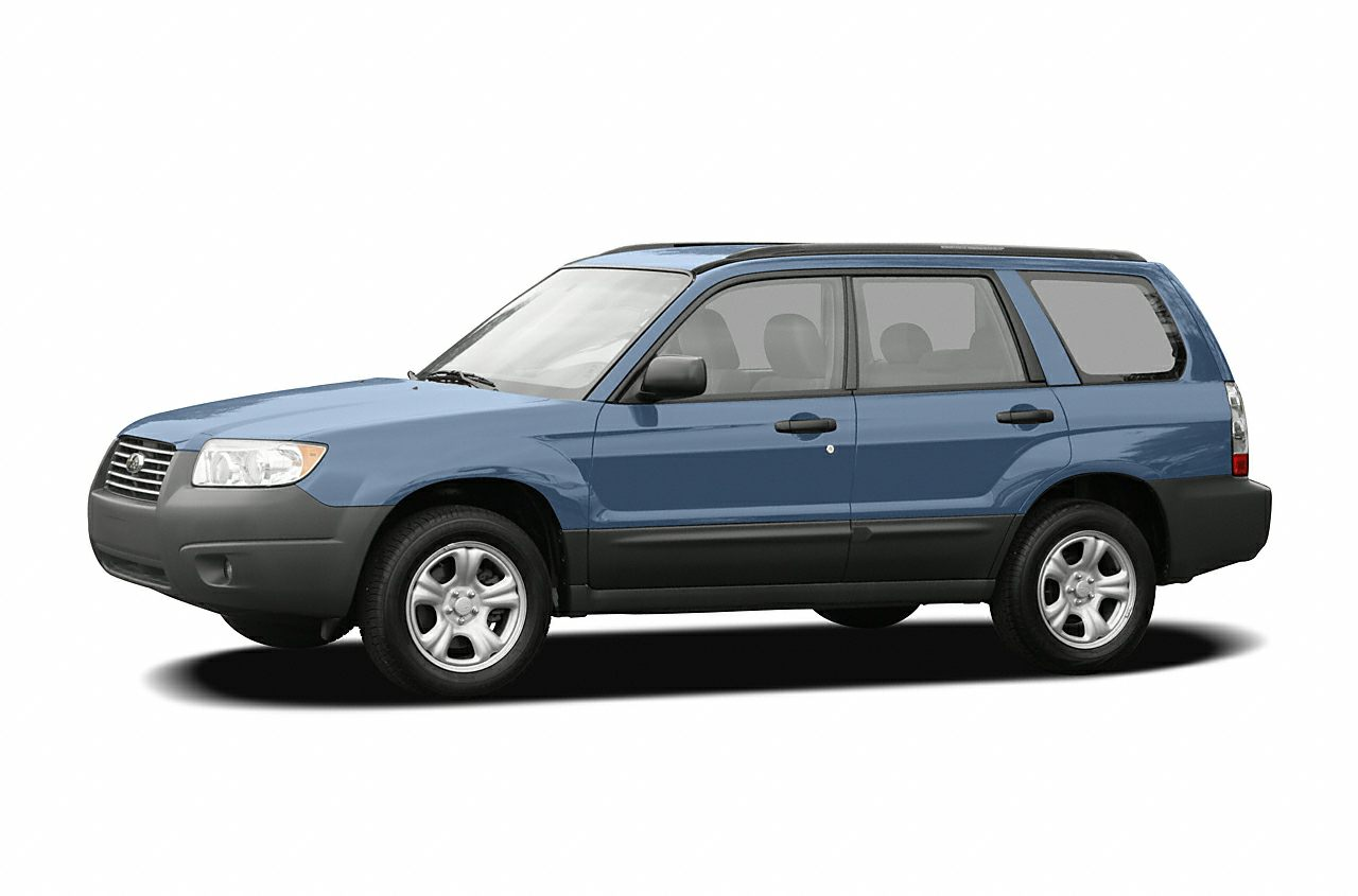 2007 Subaru Forester 2 5x 4dr All Wheel Drive Specs And Prices