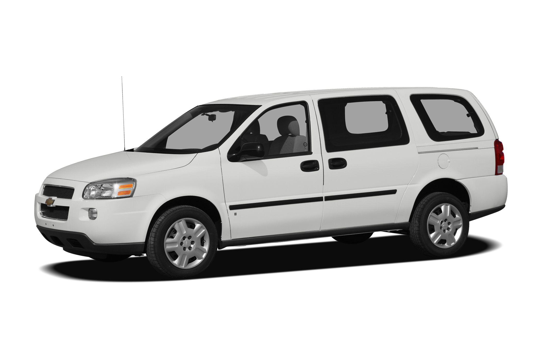 2008 Chevrolet Uplander Cargo w/2FL Front-wheel Drive Cargo Van Specs and  Prices