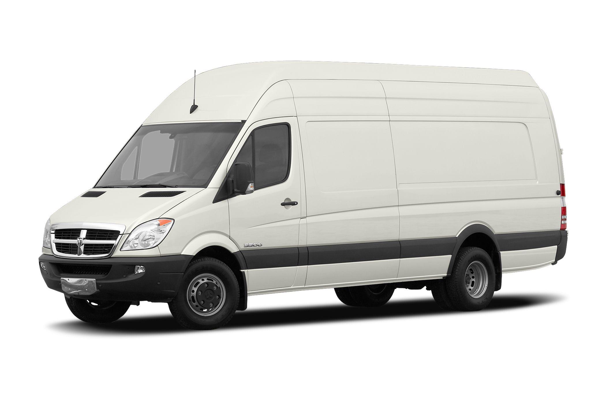 2008 Dodge Sprinter Van 3500 High Roof Extended Cargo Van 170
