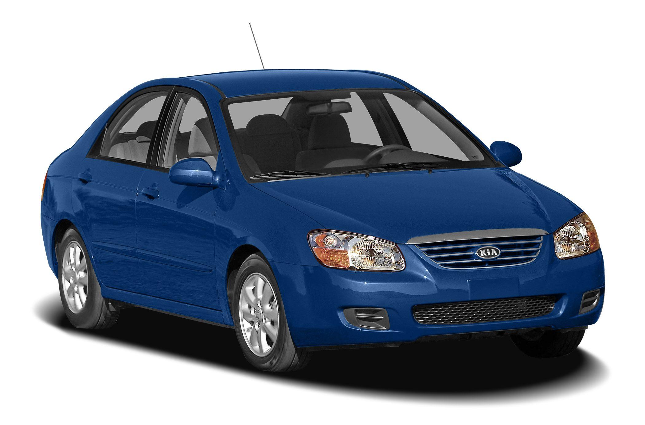 2009 kia spectra sedan owner owner's manual user guide lx ex sx.