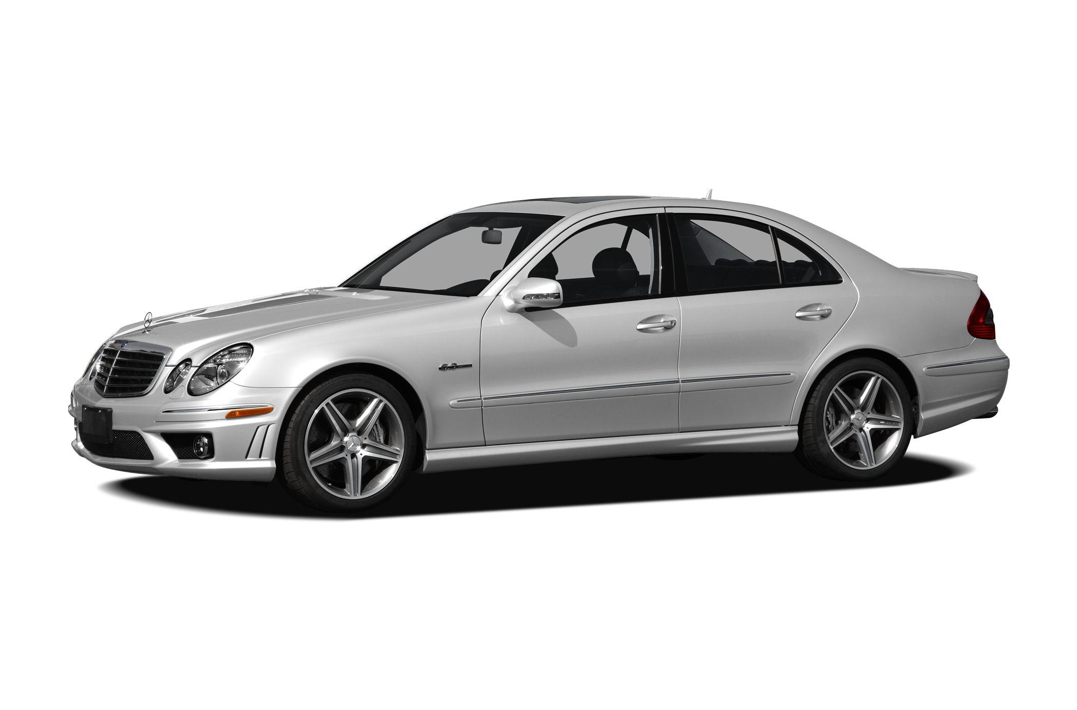 2009 Mercedes Benz E Class Base E 63 AMG 4dr Rear wheel Drive Sedan