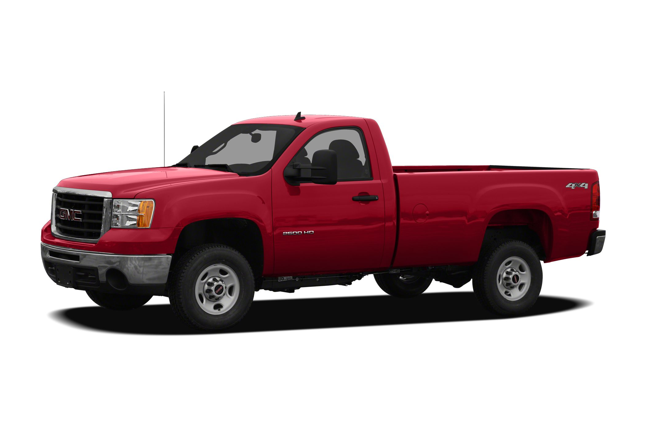 2010 Gmc Sierra 2500hd Work Truck 4x4 Regular Cab 8 Ft Box 133 In Wb Specs And Prices